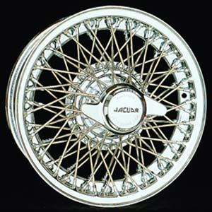 Wire Wheels для Ягуар с центральной ступичной заглушкой в форме винта